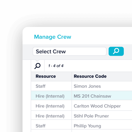 Crew Management - TechnologyOne